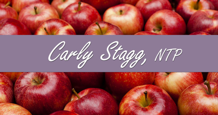 Introducing Carly Stagg, NTP