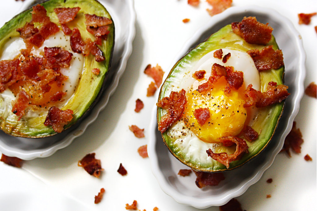 avocado bacon