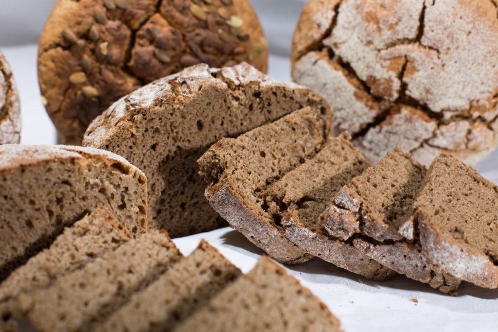 Gluten is found in grains like wheat, barley, rye, spelt and triticale
